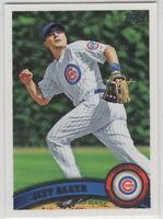 2011 Topps Baseball Chicago Cubs Team Set