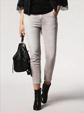 Diesel Women's Fayza-Evo Relaxed Boyfriend Fit Jeans In Grey Size W27