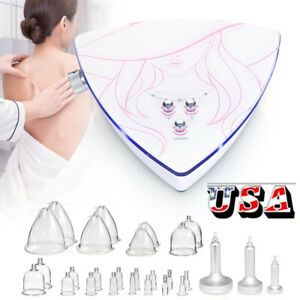 Breast Butt Enlargement Vacuum Lymph Detox Breast Lifting Beauty Spa Equipment