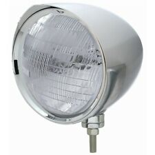 "UNITED PACIFIC ""CHOPPER"" Headlight w/ Razor Visor - 6014 Bulb 32531"
