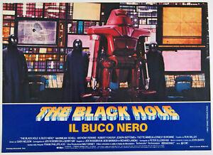 lotto 3 fotobuste film THE BLACK HOLE - IL BUCO NERO A.Perkins M.Shell 1980