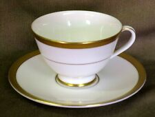 UNUSED Royal Doulton Royal Gold English Bone China Tea Cup & Saucer - H4980