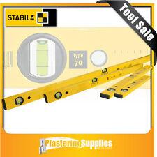 Stabila Spirit Level 4 Piece Box Level Set   Type 70