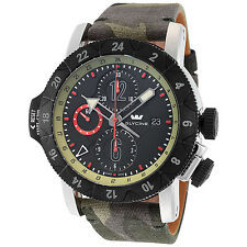 Glycine Men's 3921.396-TB22 Airman Airfighter Camouflage Automatic Chronograph