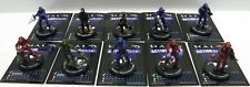 Halo Action Clix Model Lot Of 10 w/cards Master CHEF , Spartan , Marine , ODST