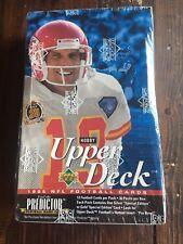 Upper Deck 1995 NFL Football Cards (sealed box) 36 Packs Per Box