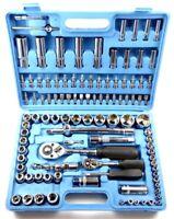 108-tlg. Werkzeugkoffer Ratschenkasten Werkzeugkasten Nuss Bit Torx 6-Kant Set