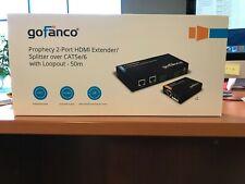 Gofanco 2-Port HDMI Extender/Splitter