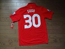 Liverpool #30 Suso 100% Original Jersey Shirt 2012/13 M BNWT NEW Rare