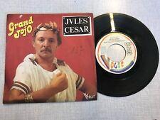 DISQUE VINYLE 45T : Grand jojo - Jules césar