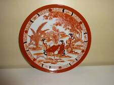 """Vintage Collectors Plate Japan Collectible Geisha Girls Japanese Hand Painted 8"""""""