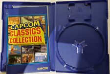 (NO GAME) PS2  CAPCOM Classics Collection Vol 1 Volume One BOX AND MANUAL ONLY