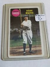 2012 Topps Archives 3-D #BR Babe Ruth : NY Yankees