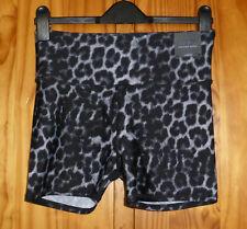 Cotton:On Body Size L The Bike Short Highwaisted Gym Short Grey Leopard