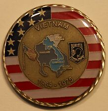 Vietnam War Veteran / VET Army Navy Marine Air Force Coast Guard Challenge Coin