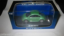 AUTOart 1.64 VOLKSWAGEN VW NEW BEETLE GREEN AWESOME OLD SHOP STOCK #20171