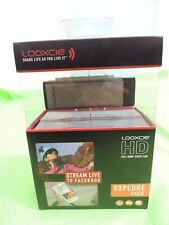 NEW Looxcie Explore Pack HD Full 1080P Video Camera Camcorder Outdoor / SEALED