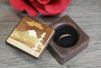 Ring Box Jewelry Gift Wedding Proposal Engagement Tree Mountain 2 Handmade 2