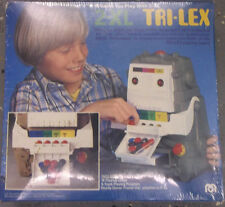 NOS VINTAGE 1978 MEGO 2-XL TRI-LEX  ROBOT GAME BOX COMPLETE WITH TAPE SEALED