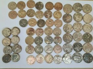 USA UNITED STATES coins €50 -  $1 50c & 25c coins assorted conditions FREE P&P