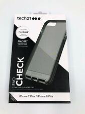 Tech21 Apple iPhone 7 Plus/8 Plus Evocheck Flexshock Case - Black c390