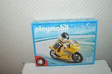 Playmobil Moto de Course 5116 tres bon Etat