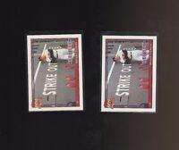 Roger Clemens 1991 Topps Glow Card Back UV Variant Baseball Card #530 Lot of 2