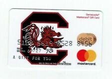 University of South Carolina - Gamecocks - Debit Charge Gift Card - No Value
