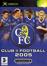 Chelsea Club Football 2005 (Xbox) - Free postage - UK Seller