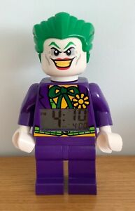Lego DC Super Heroes The Joker Alarm Clock Figure Light Up Display