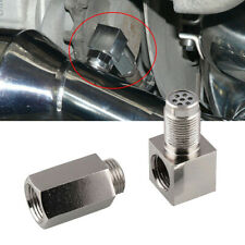 3 x O2 Oxygen Sensor Spacer Engine Light CEL Check Bung Mini Catalytic Converter
