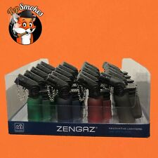 20 Pack 45 Degree Angle Jet Flame Butane Torch Lighter Refillable Windproof USA