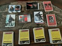 TOPPS STAR WARS JOURNEY TO THE LAST JEDI COMPLETE BASE SET PLUS 5 INSERT SETS