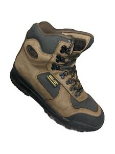Vasque Clarion GTX Mens Size 9 Skywalk Gore-Tex Hiking Boots Brown Green Leather
