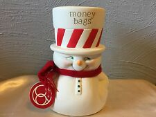 Department 56 Snowpinions 40451103 Money Bags Bank New 2015