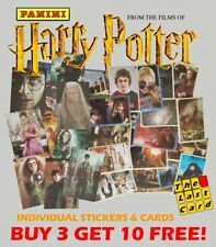 PANINI HARRY POTTER SAGA FROM THE FILMS - INDIVIDUAL STICKERS BUY 3 GET 10 FREE!