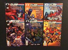 GI JOE VS TRANSFORMERS #1-6 Comic Books Volume 1 Image 2003 Cobra Mike Miller