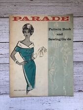 Vintage Parade Pattern Book and Sewing Guide 1960's Housewife Sewing Catalog