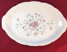 """Vintage Serving Platter, Fine China, Japan, Symco , Wild rose 12"""""""
