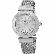 Charriol Women's Alexandre C MOP Dial Stainless Steel Quartz Watch AMS51002