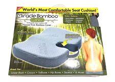 New Miracle Bamboo Cushion Seat Chair As Seen on TV Orthopedic Memory Foam Car