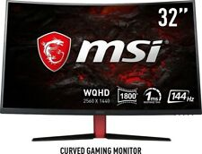 "MSI Optix AG32CQ 31.5"" Monitor, 2560x1440, 144 Hz, 1ms"