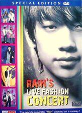 RAIN'S LIVE ALL-STAR KOREAN FASHION CONCERT [DVD R0] K-POP