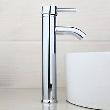 New Countertop Sink Faucet  Bathroom Brass Hot&Cold Mixers Taps Polished Chrome