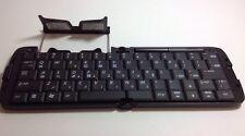 HP iPAQ FA287 A#AC3 Bluetooth Folding Keyboard HSTNH-D02K Battery Powered