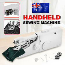 Mini Cordless Sewing Machine Portable Handheld Hand Held Stitch Home Clothes