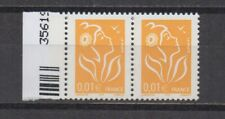 France : n° 3731 a (1c. M. de Lamouche 1/2 ph tà deux 1/2 ph) **. TTB.Cote 15 €.