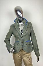 Boden British Tweed By Moon Blazer Jacket UK 8 / US 4 R