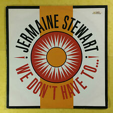 Jermaine Stewart - We Don't Have To... - Ten Records TEN96-12 Ex Condition