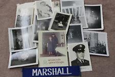 Original Vietnam War U.S.A.F. ID'd Veteran's Photos, Name Tag & More Grouping